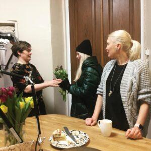 Anneli Tammik uue ateljee avamine Hobusepea 2